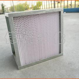 铁框空气过滤器 968*484*220 有隔板高效过滤器