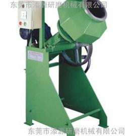 高性能可倾斜式滚筒研磨抛光机
