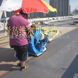钢板桥面抛丸除锈防腐施工