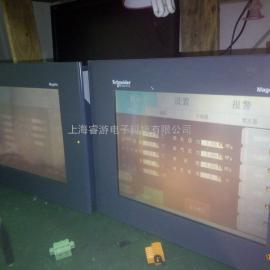 施耐德触摸屏XBTG5230黑屏各种半小时维修
