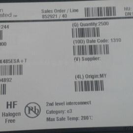 485通讯芯片IC MAX485ESA美国美信原装芯片