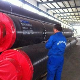 钢套钢蒸汽保温管3PE防腐