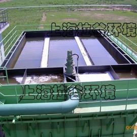 上海拉谷 100m3/h斜板堆积池