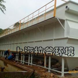 上海拉谷 200m3/h大型斜管沉淀器