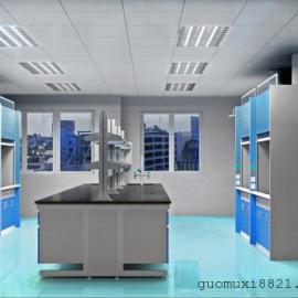 佛山钢木实芯理化板实验台耐酸碱实验桌,生产实验室通风柜