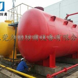 加工定制 大型盐酸储存罐  钢衬PE盐酸贮罐  防腐硫酸罐