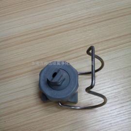 灰色PP材质夹扣喷嘴6540-44-14 CACO品牌可定制