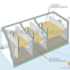 地埋式油水分离器-广州绿河环保公司提供 厂家制作