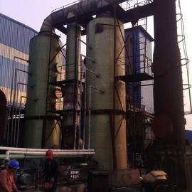 河南煤矸石窑炉烟气脱硫塔参数|陶粒砂回转窑脱硫塔技术方案