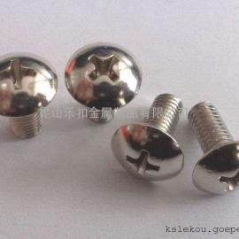 现货供应不锈钢304316十字槽大扁头机螺钉 十字大扁头机螺丝