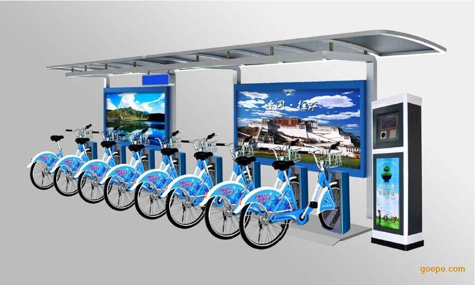 临沂公共自行车棚|滕州单车棚|枣庄自行车亭设计制作施工