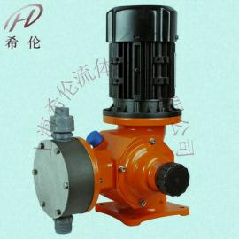 不锈钢机械隔膜计量泵价格0.25KW加药泵304厂家直销