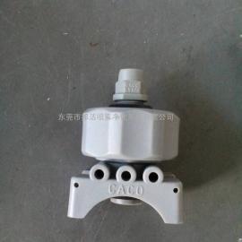 供应PP材质可调球型夹扣喷嘴,快拆扇形喷嘴喷头 质量保证
