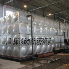 上海拉谷 1000m3不锈钢水箱