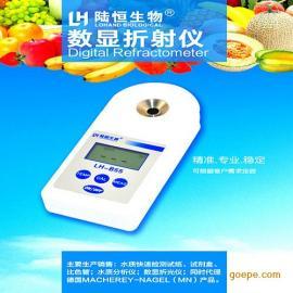 迷你数显糖度计LH-B55 果蔬 饮料糖分折射仪 甜度计 切削液浓度计