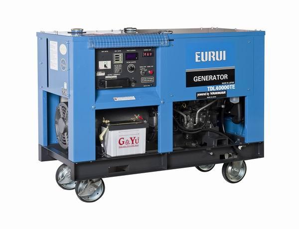 日本东洋EURUI柴油三相发电机TDL40000TE