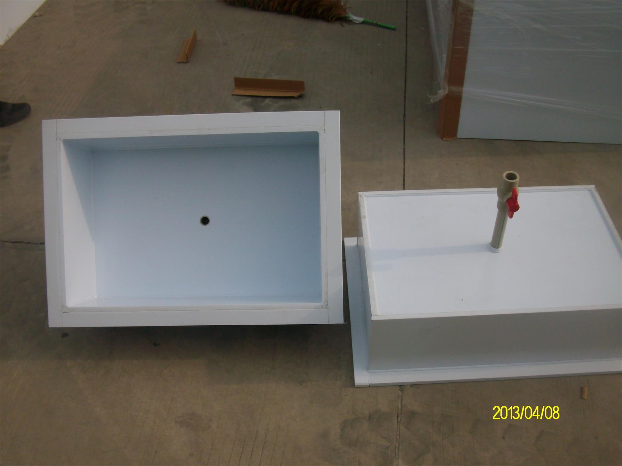 苏州厂家直销 PP酸碱槽 定制PP防酸碱水槽加工