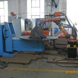 供应盛国宏贝电力铁塔机器人离线编程焊接工作站