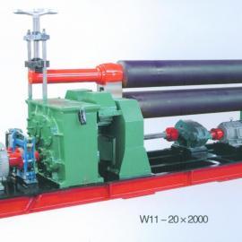 供��W11-20X2000�C械�ΨQ式三�卷板�C