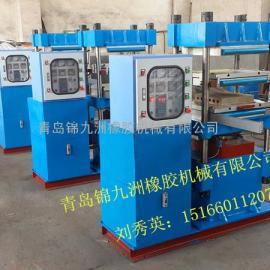 500mm加热板80t硫化机,PC控制80t硫化机