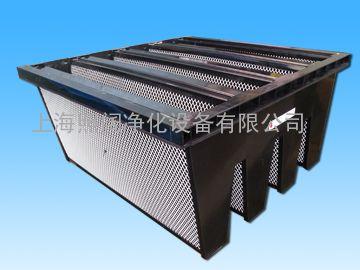 活性炭V型高效空气过滤器W型高效空气过滤器法兰式过滤器
