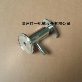 温州厂家直销食品卫生级快装取样阀(单嘴不锈钢无菌取样阀)