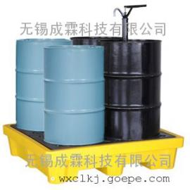 成都防泄漏托盘|盛漏托盘|油桶专用防漏托盘|2、4桶型