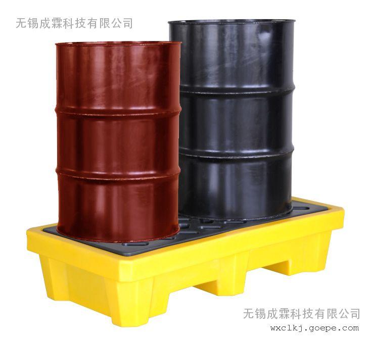 太仓高新区油桶专用防漏托盘|油桶控液托盘|防泄漏托盘|环保