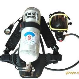 带声光报警通讯面罩GA124-2013正压式消防空气呼吸器