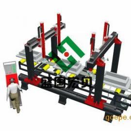 供应盛国宏贝保险柜角焊缝自动打磨机