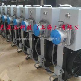 AE系列混凝土搅拌车专用型风冷却器