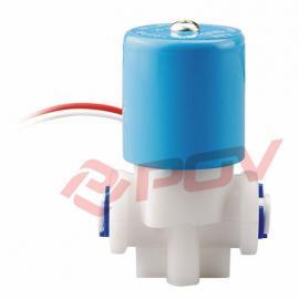 POC10饮水机专用直动式PP电磁阀