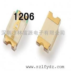 1206普绿色 1206黄绿色贴片灯珠