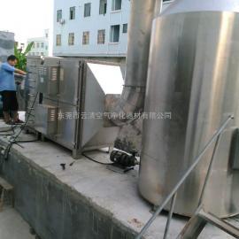 云清直供燃煤锅炉除尘脱硫除烟废气净化处理成套不锈钢设备