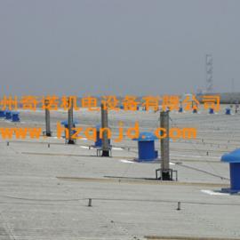 厂家供应DWT-II-3.5有动力玻璃钢离心式屋顶风机风帽