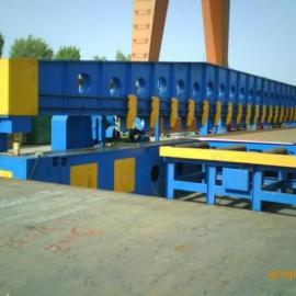 供应连云港钢板铣边机,通过式钢板铣边机,