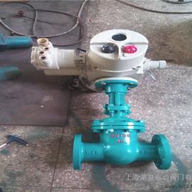 dn200口径矿用防爆调节型电动截止阀