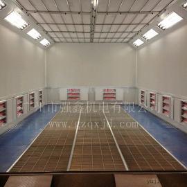 供应广州红外线电加热汽车烤漆房,无尘喷漆房,汽车烤漆房报价