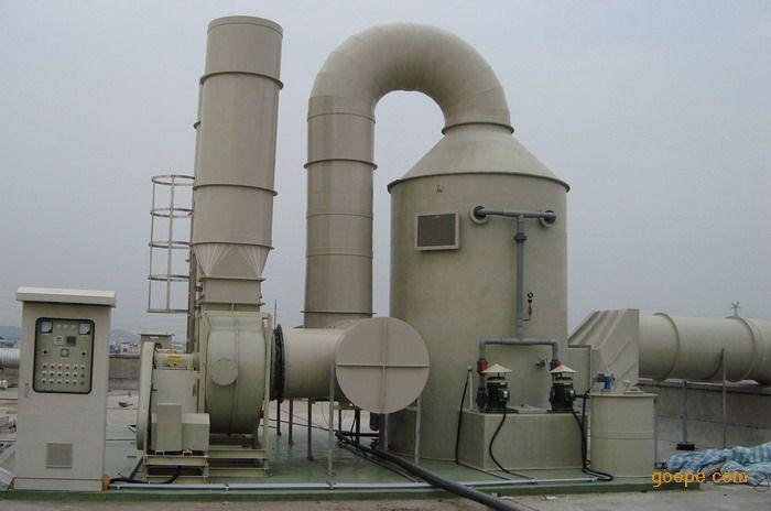 洗涤塔废气处理装置