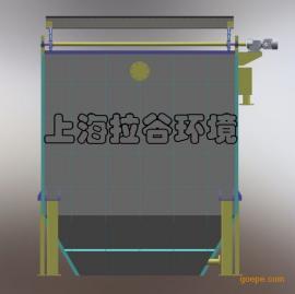 上海拉谷 80m3/h刮油斜板堆积池