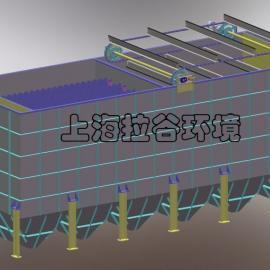 上海拉谷 100m3/h刮油斜板沉淀池
