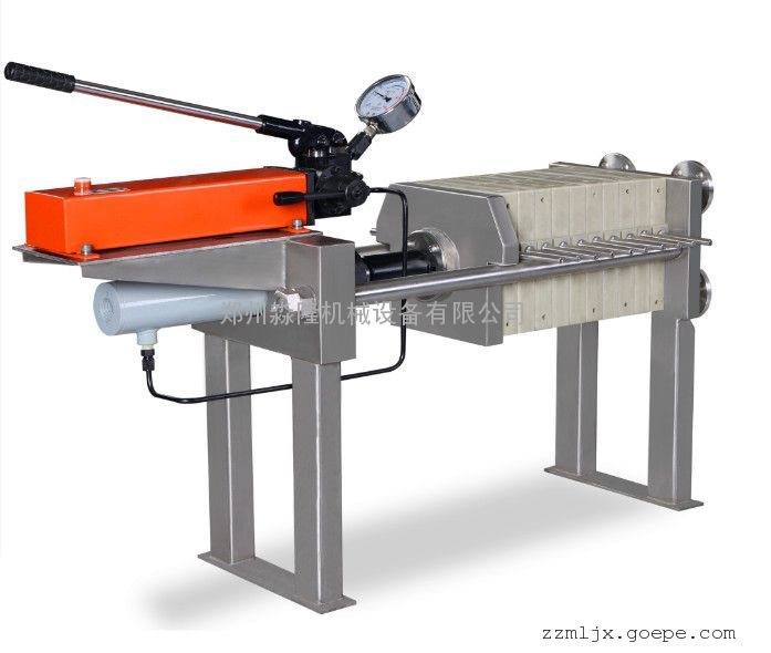 河南油田污泥实验隔膜式压滤机最新报价