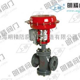 供应高精度ZJHN气动薄膜双座调节阀