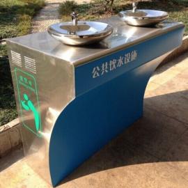 公园双盘直饮水台
