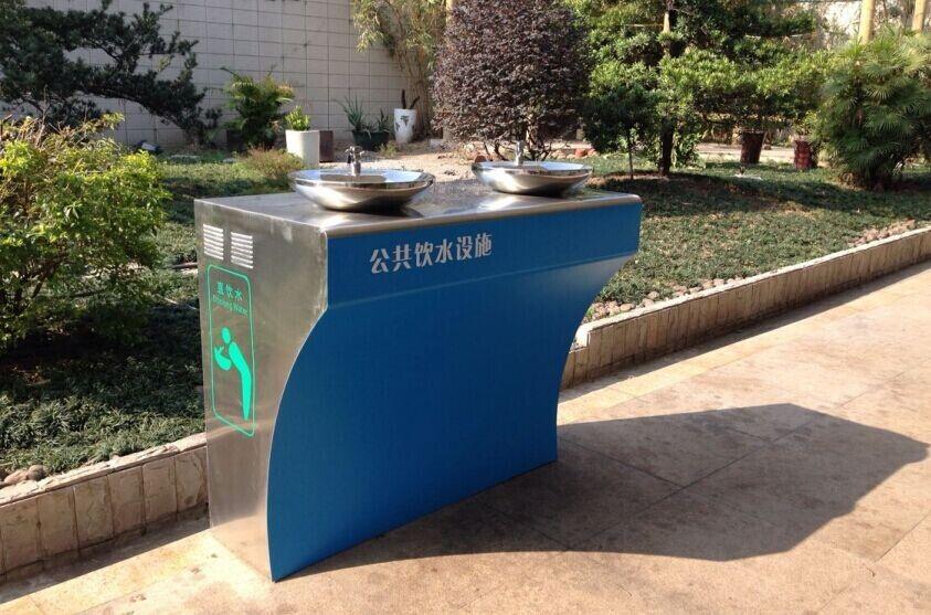 深圳公园直饮水台