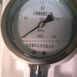 YN-不锈钢耐震压力表