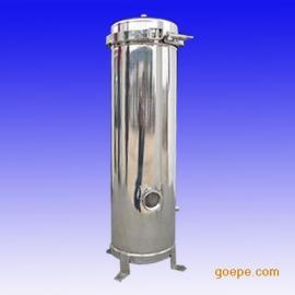供应不锈钢精密过滤器200*5芯20寸-普通抱箍式