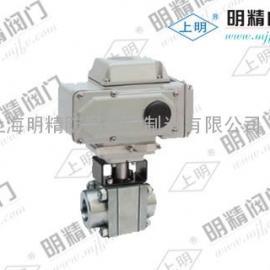 电动高压螺纹球阀Q911N-100C