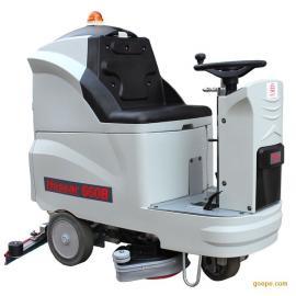 驾驶式洗地机 环氧树脂空中洁肤机 金刚砂地坪公用洗地机