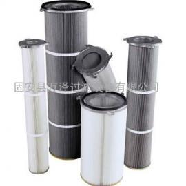 高精度覆膜长纤维替代进口粉尘滤芯滤筒